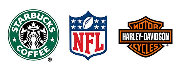 best brand logo starbucks nfl harley