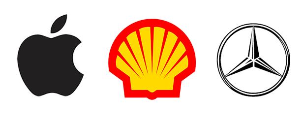 best brand logo apple shell mercedes