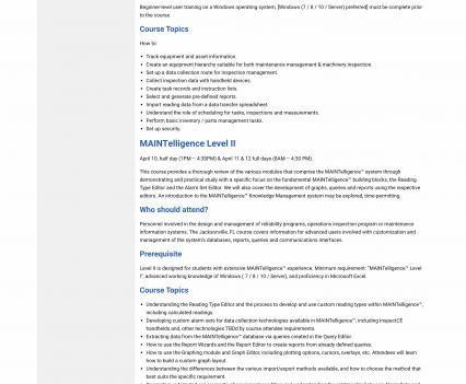 DMSI event page - Liddleworks