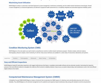 DMSI MAINTelligence page - Liddleworks