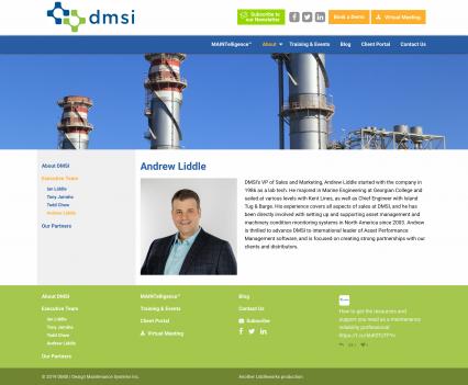 DMSI bio page - Liddleworks