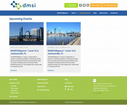 DMSI event roster - Liddleworks