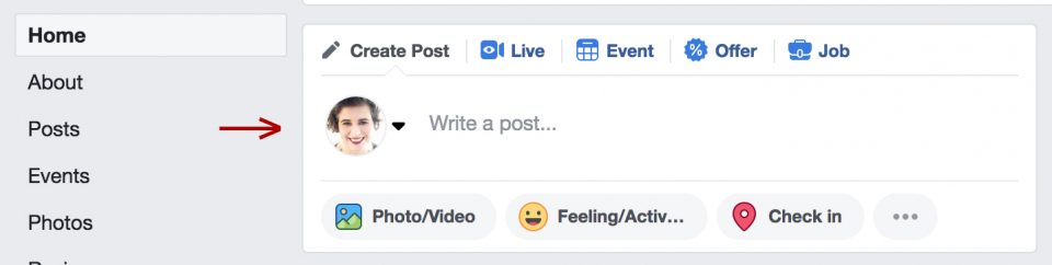 Liddleworks Tech Tip How to Schedule a Facebook Post