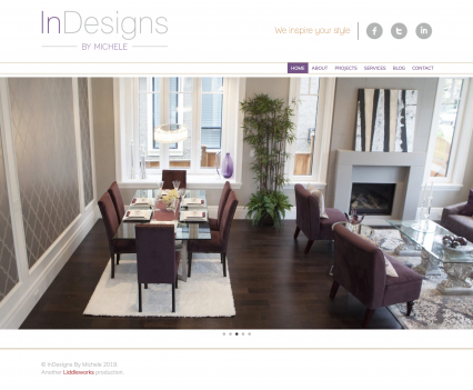 Indesigns by Michele project home page - Liddleworks